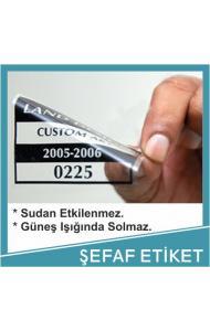 ŞEFFAF STİCKER ETİKET İÇİN ARAYINIZ.