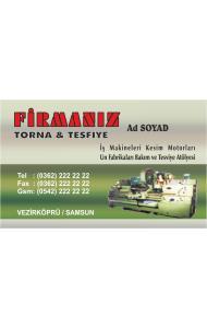 TORNACI KARTVİZİTİ